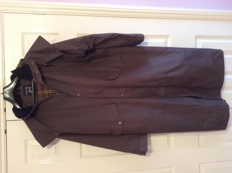 mens stockman long waterproof coat countryman
