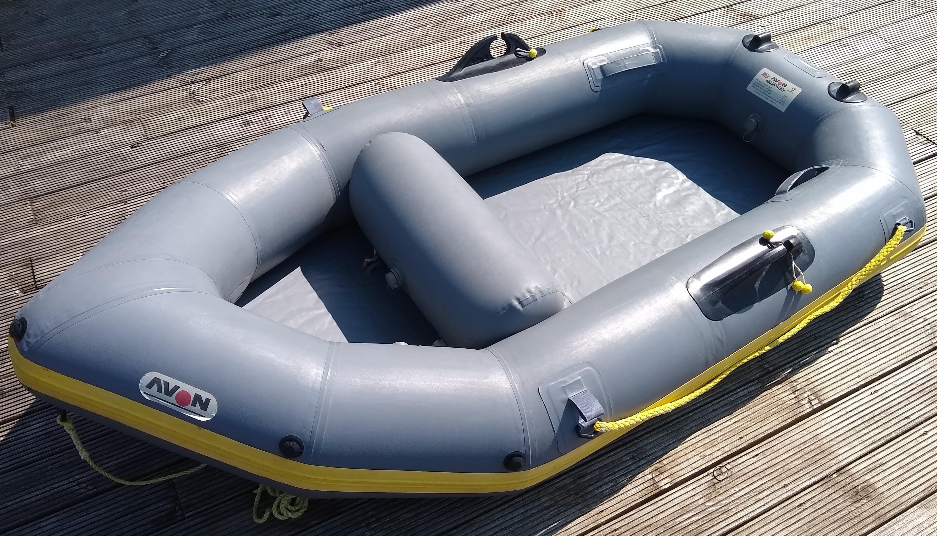 AVON REDSTART INFLATABLE DINGHY VGC in Totland Bay - Sold | Wightbay